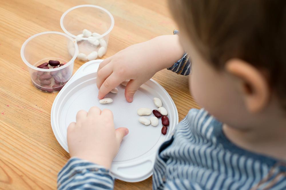 Bahan Makanan untuk Sensory Play