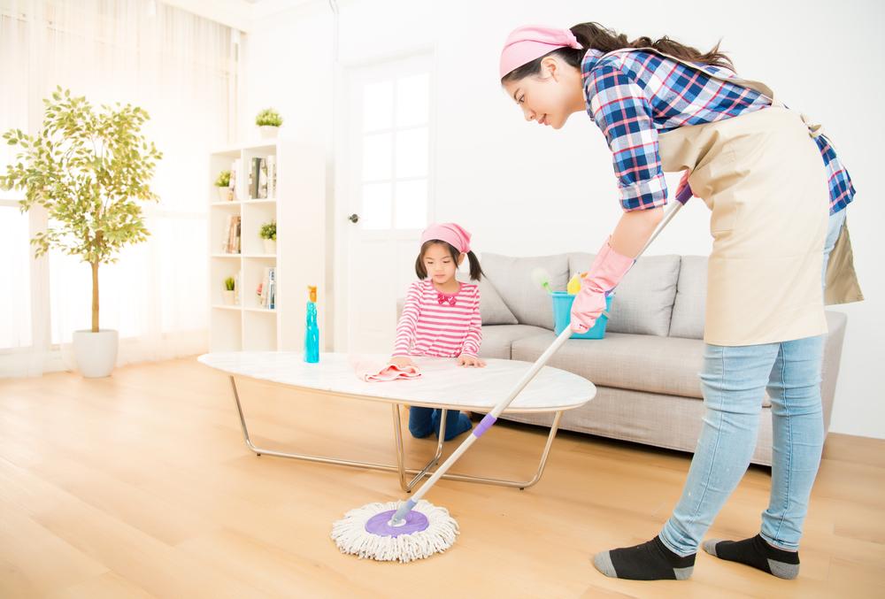 Hilangkan Stres dengan Bersih-bersih