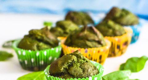Inspirasi Finger Food: Muffin Pisang Bayam