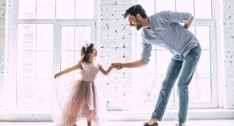 Aktivitas Bonding Ayah dan Putrinya